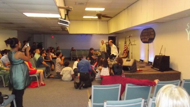 Conferencia religiosa: Iglesia Houston
